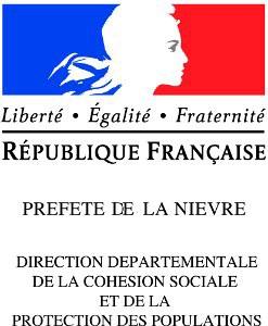logo préfecture de la Nièvre