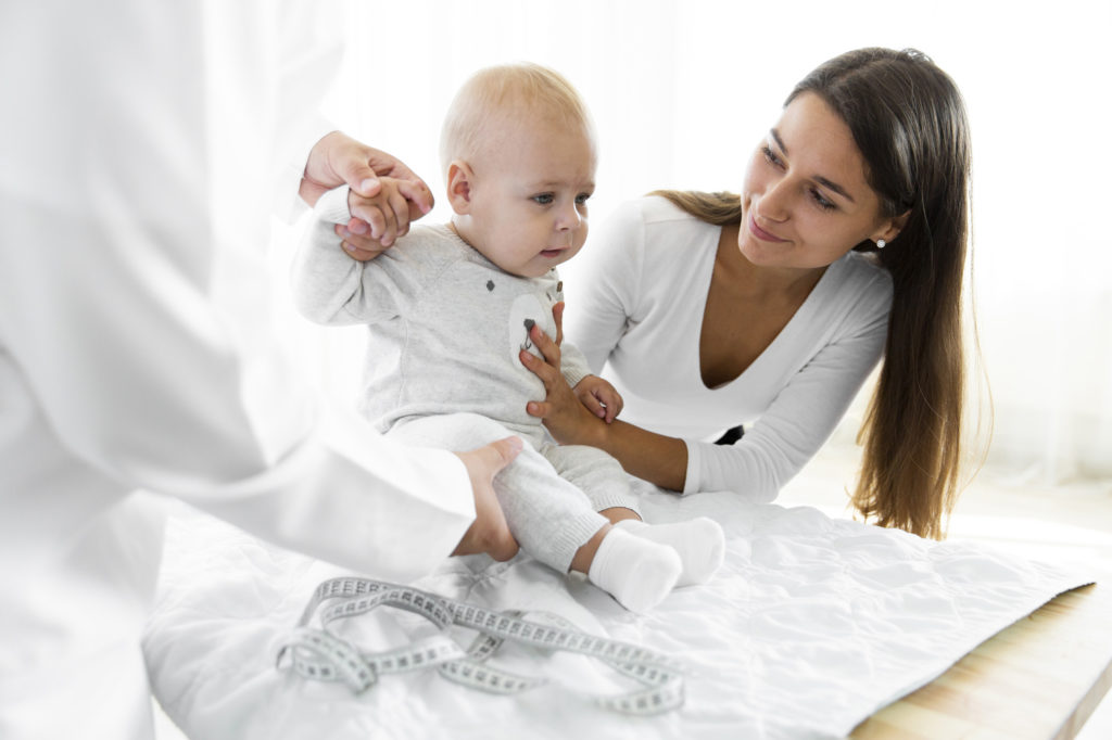 consultation de bébé