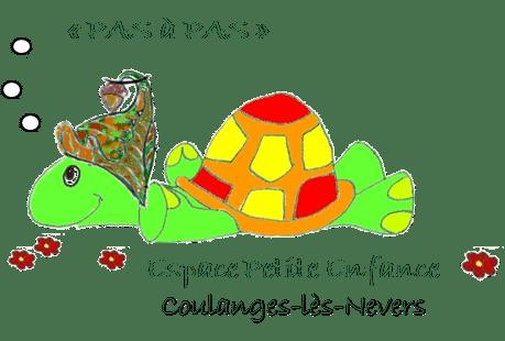 logo Espace petite enfance Pas à pas
